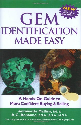 9780943763347: Gem Identification Made Easy, Third Edition: A Hands-On Guide to More Confident Buying & Selling