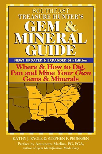9780943763583: Southeast Treasure Hunter's Gem & Mineral Guide: Where & How to Dig, Pan and Mine Your Own Gems & Minerals