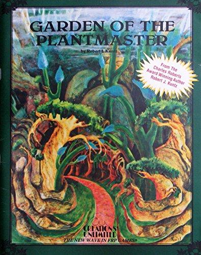 Garden of the Plantmaster 1st Printing (Maze: Robert Kuntz