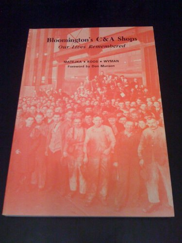 9780943788043: BLOOMINGTONS C & A SHOPS (Transactions of the Mclean County Historical Society, Vol 9)