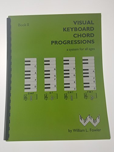9780943894034: Visual Keyboard Chord Progressions Book 2