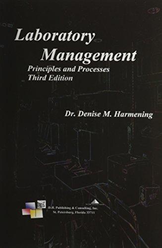 laboratory management principles and processes pdf