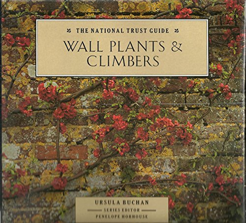 9780943955544: Wall Plants and Climbers (National Trust Guide)