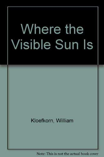 Where the Visible Sun Is