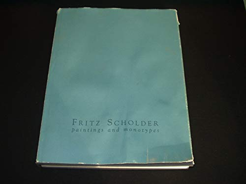 Fritz Scholder: Paintings and Monotypes: Scholder, Fritz