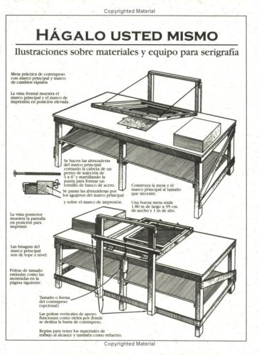9780944094082: Hagalo Usted Mismo: Illustraciones sobre materiales y equipo para serigrafia (Spanish Edition)