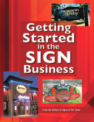 9780944094556: Getting Started in the Sign Business