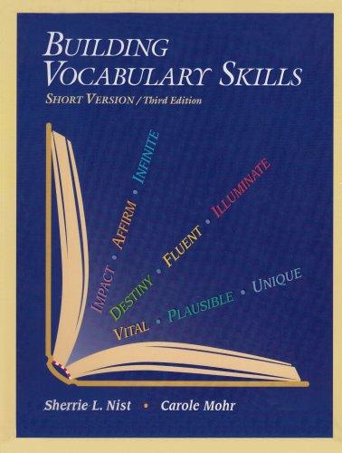 9780944210154: Building Vocabulary Skills (Short Version)