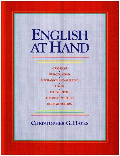 English at Hand: Christopher G. Hayes