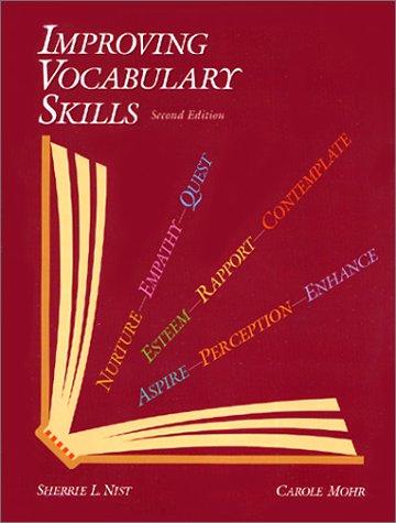 9780944210338: Improving Vocabulary Skills