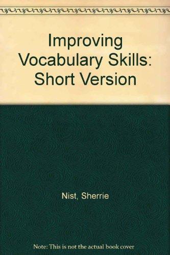 9780944210345: Improving Vocabulary Skills: Short Version