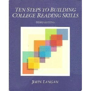 9780944210420: Ten Steps to Building College Reading Skills (Townsend Press Reading Series)