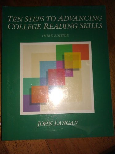 9780944210451: Ten Steps to Advancing College Reading Skills
