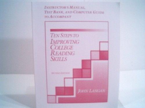 Instructor's Manual, Test Bank, and Computer Guide: John Langan