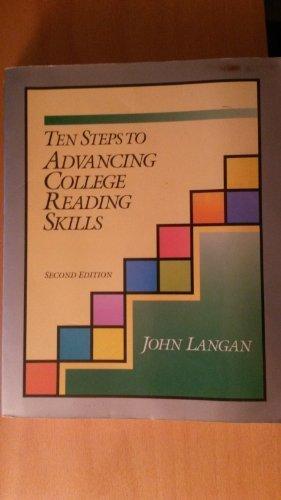 10 Steps to Advancing College Reading Skills (Townsend Press Reading Series): Langan, John