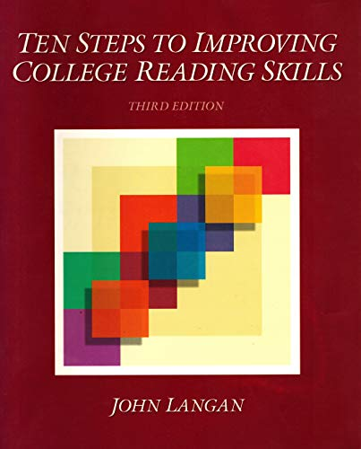 9780944210734: Ten Steps to Improving College Reading Skills (Townsend Press reading series)