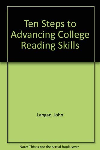 ten steps to advancing college reading skills