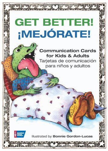 9780944235881: Get Better!: Communication Cards for Kids and Adults