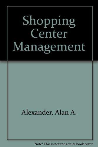 9780944298688: Shopping Center Management