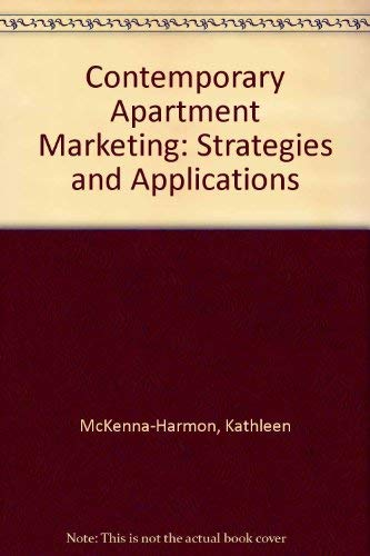 9780944298770: Contemporary Apartment Marketing : Strategies and Applications