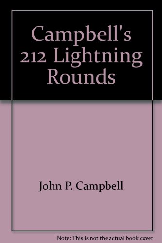 9780944322147: Campbell's 212 Lightning Rounds