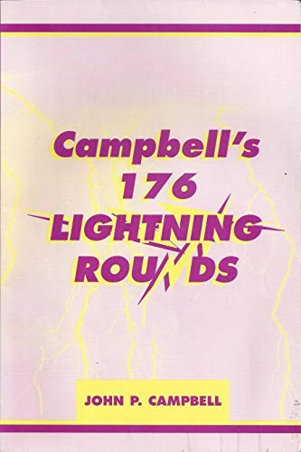 9780944322185: Campbell's 176 Lightning Rounds
