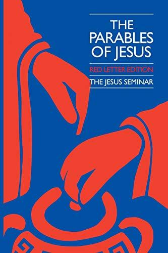 9780944344071: The Parables of Jesus (Jesus Seminar Series)