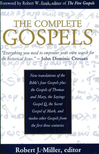 9780944344491: The Complete Gospels: Annotated Scholars Version