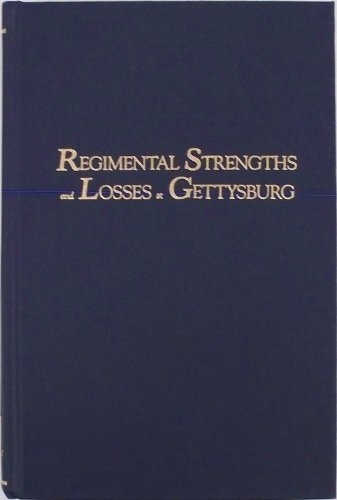 9780944413029: Regimental Strengths and Losses at Gettysburg