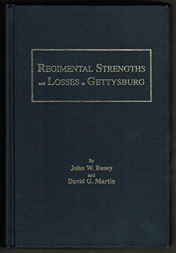 9780944413326: Regimental Strengths and Losses at Gettysburg
