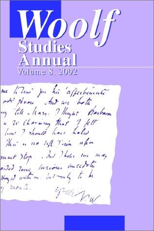 9780944473597: Woolf Studies Annual Vol 8 (Woolf Studies Annual (Paperback))