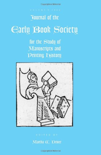 9780944473764: Journal of the Early Book Society volume 9 (Journal of the Early Book Society for the Study of Manuscrip)