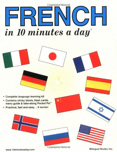 9780944502167: French in 10 Minutes a Day® (10 Minutes a Day Series)