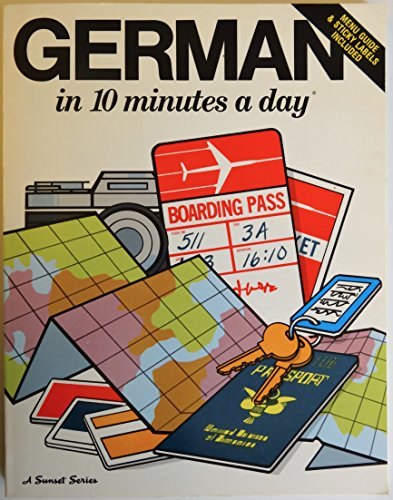 9780944502198: German 10 Mins A Day (10 minutes a day)