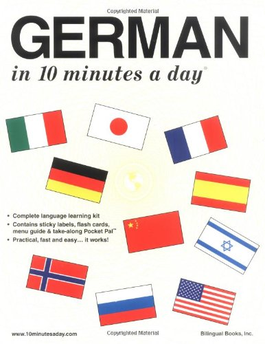 9780944502204: German in 10 Minutes a Day
