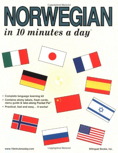 9780944502396: Norwegian in 10 Minutes a Day (10 Minutes a Day Series) (English and Norwegian Edition)