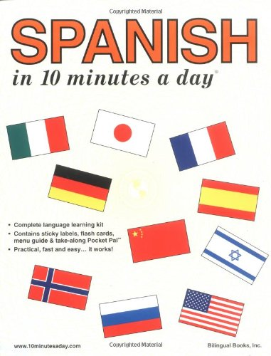 9780944502594: Spanish in 10 Minutes a Day® (English and Spanish Edition)