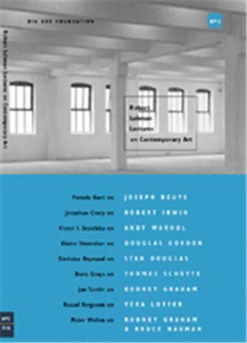 9780944521779: Robert Lehman Lectures On Contemporary Art No.3 (Dia Art Foundation, New York)