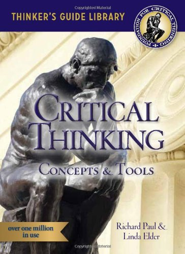 9780944583104: The Miniature Guide to Critical Thinking-Concepts and Tools (Thinker's Guide)