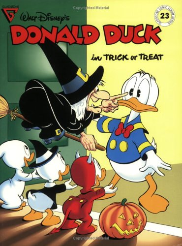 Walt Disney's Donald Duck in Trick or Treat (Gladstone Comic Album Series No. 23): Barks, Carl