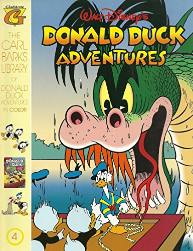 9780944599792: The Carl Barks Library Of Donald Duck Adventures in Color 4: Walt Disney's Donald Duck Adventures.