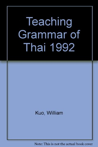 9780944613153: Workbook for Writing Thai (English and Thai Edition)