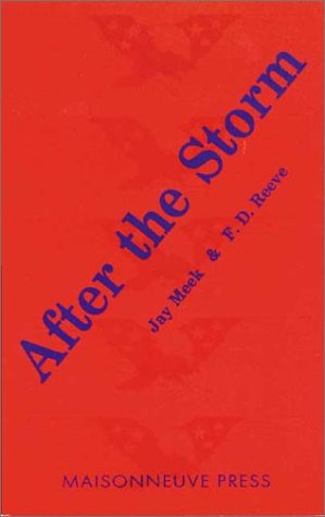 9780944624166: After the Storm: Poems on the Persian Gulf War