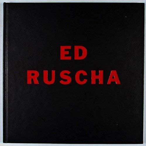 Ed Rucha Catalog