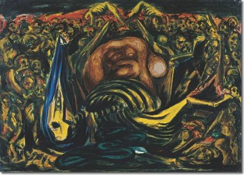 9780944722428: Men of Fire: Jose Clemente Orozco and Jackson Pollock