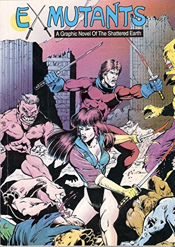 Ex-Mutants A Graphic Novel Of The Shattered: David Lawrence