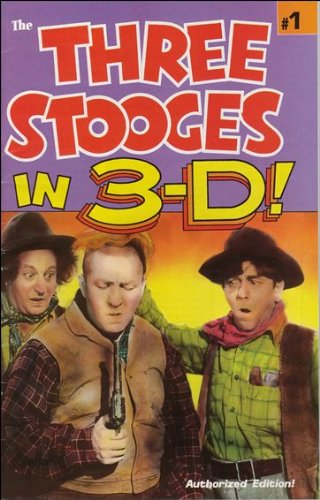 9780944735916: Three Stooges in 3-D #1 (1991)