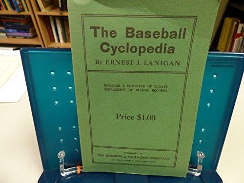 BASEBALL CYCLOPEDIA: Lanigan, Ernest J.