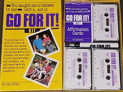 9780944815007: Go for It Kit (Book, Cards, 3 Cassettes, and Marking Pen)