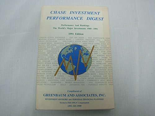 9780944822036: Chase Investment Performance Digest: Performance and Rankings of the World's Major Investments : Stocks, Bonds, Currencies, Collectibles, Commodities